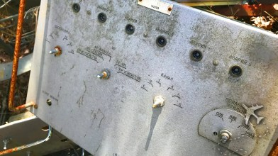 Soviet RF control panel from Duga-1