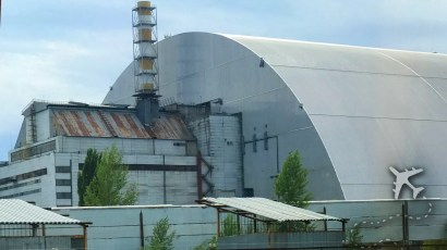 New safe confinement structure at Chernobyl