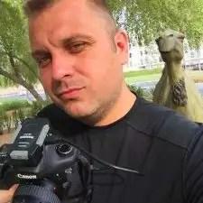 Sean Brown in Dubai, United Arab Emirates