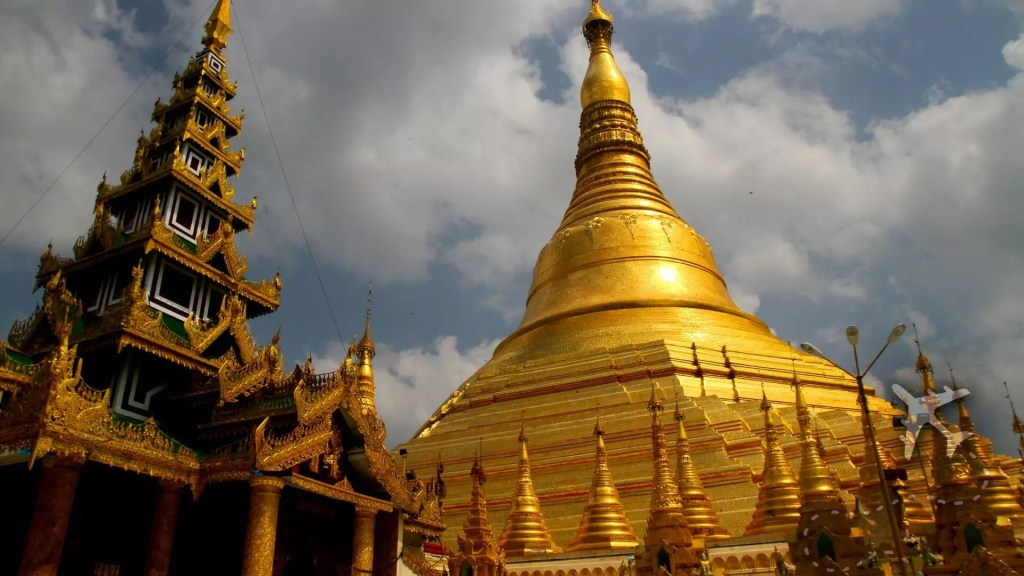 Great Dagon Pagoda Myanmar