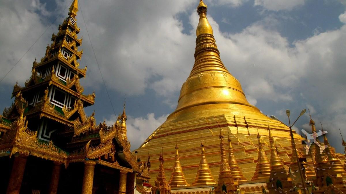 Great Dagon Pagoda Myanmar