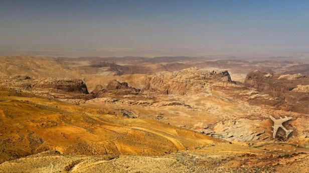 Arabah valley in Southern Jordan