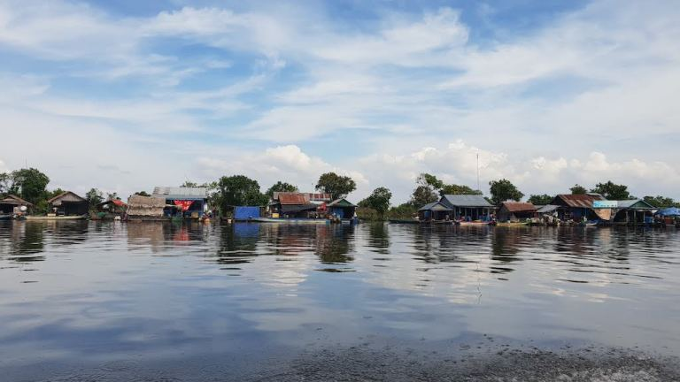 village flottant trajet Battambang Siem Reap