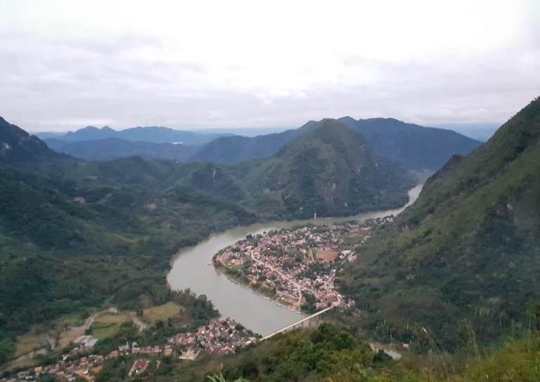 point de vue de la montagne Phadeng