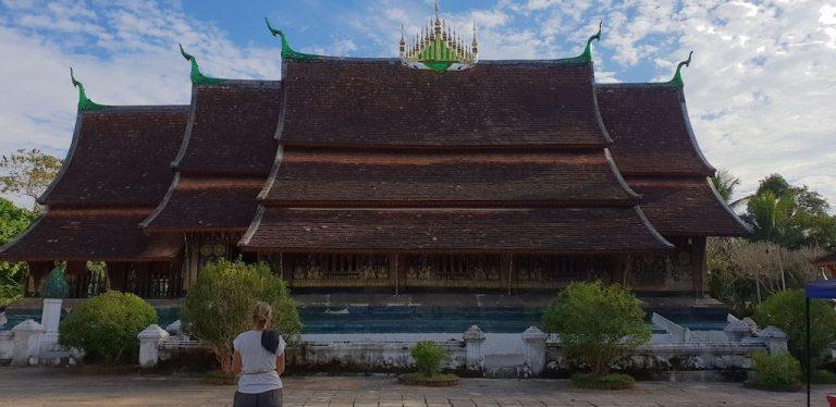 Temple Wat Xieng Thong Luang Prabang
