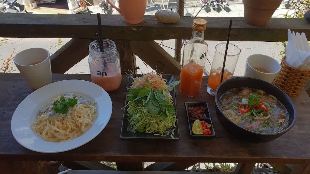 An Café Dalat plat