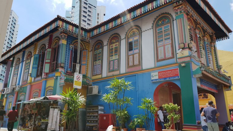 Former House of Tan Teng Niah Singapour