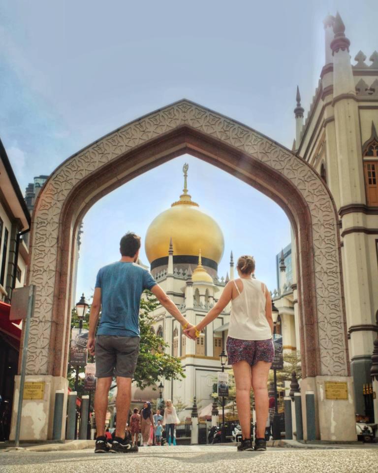 Mosquée Masjid Sultan Singapour