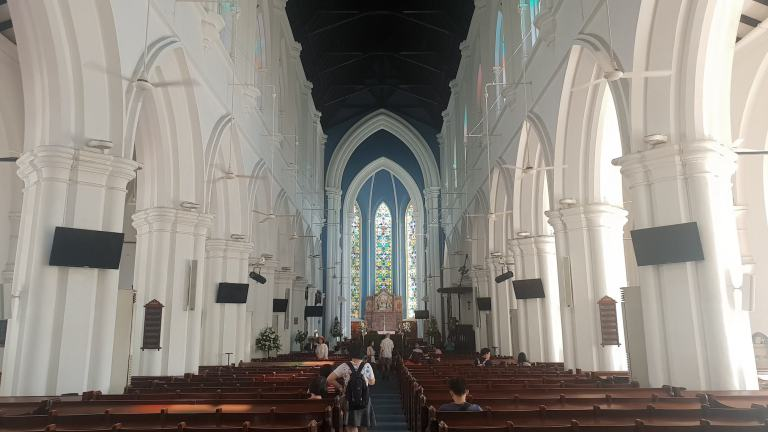 Saint Andrew's Cathedral Singapour