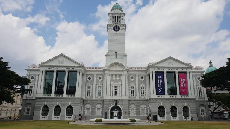 Victoria Theatre and Concert hall Singapour
