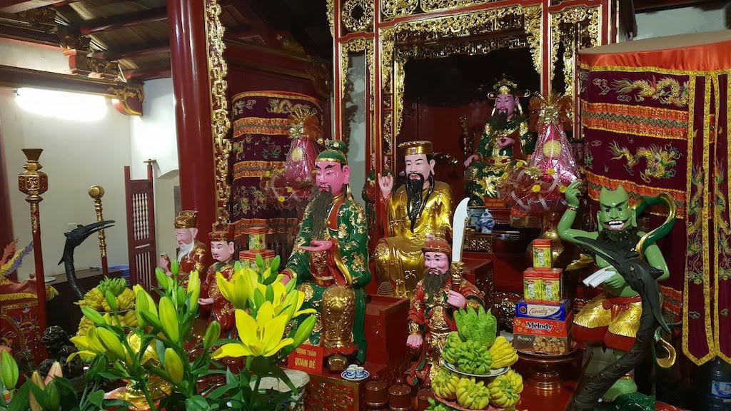 temple Montagne de Jade Den Ngoc Son Hanoi