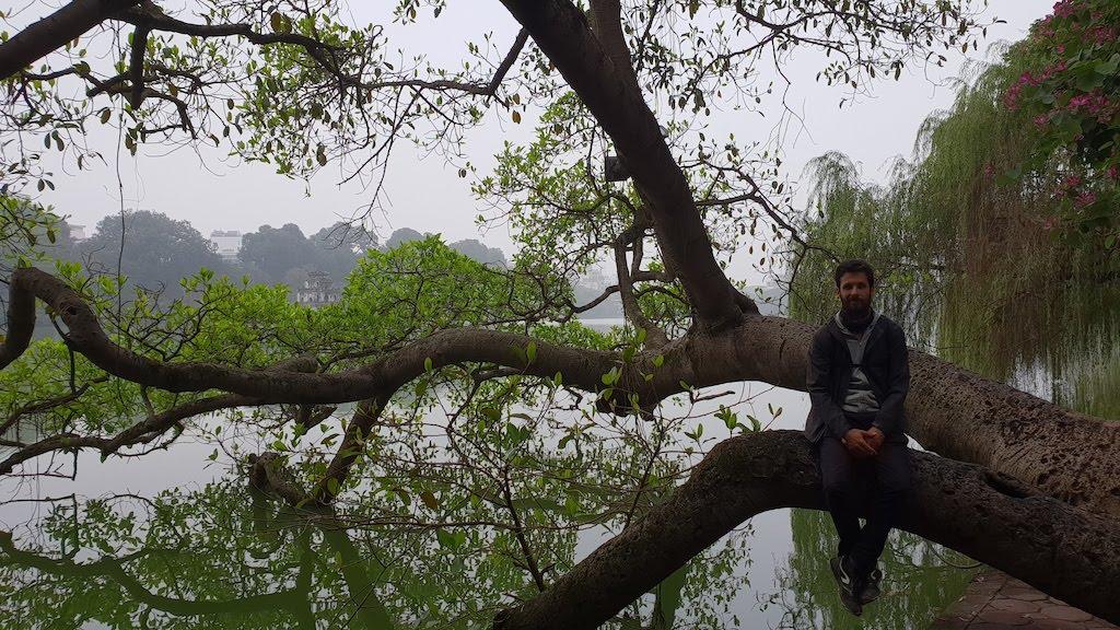 lac de l'épée : Ho Hoan Kiem Hanoi