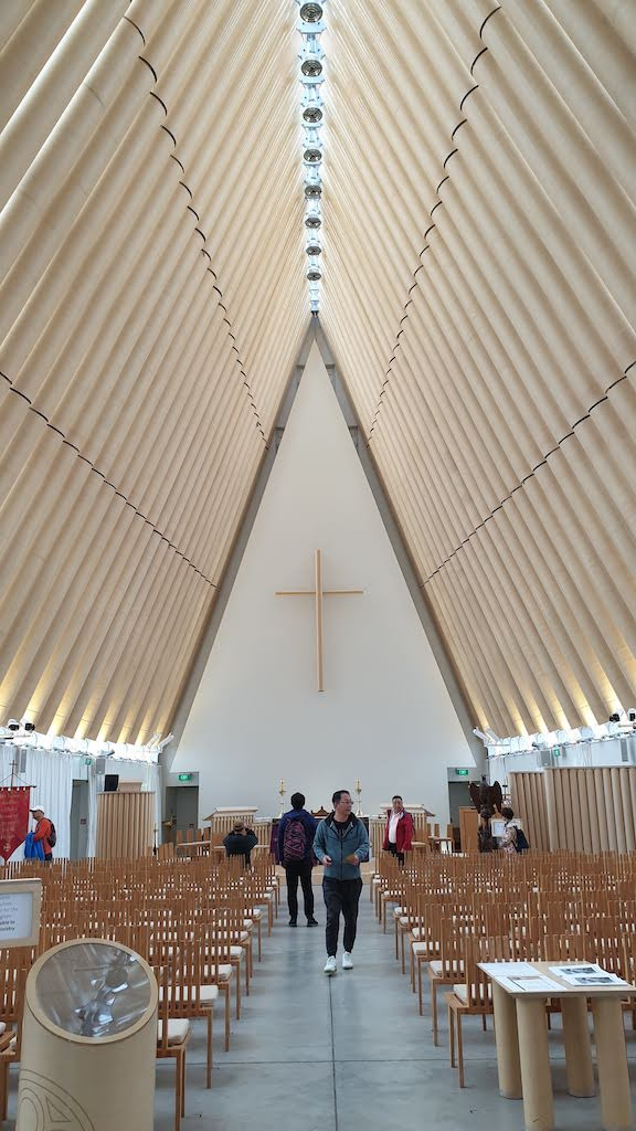 Transitional Cardboard Cathedral Christchurch