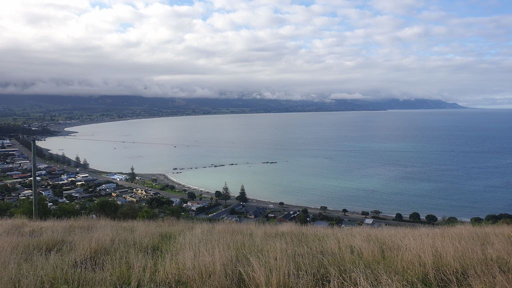 point de vue àScarborough Street Kaikoura
