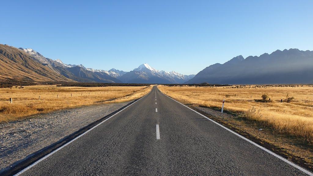 Mount Cook, le célèbre mont le plus haut de nouvelle-zélande