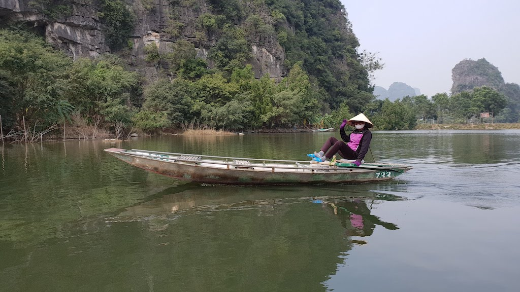 baie d'Ha Long terrestre à Tam Coc