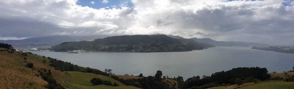 Point de vue depuis la Highcliff road Péninsule d'Otago