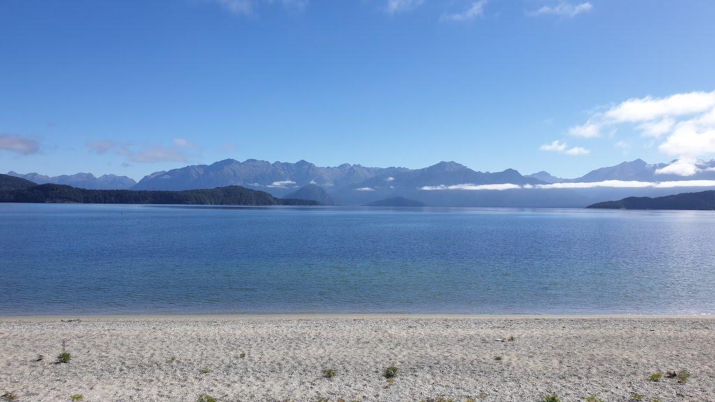 Manapouri Frasers beach au Lake Manapouri Te Anau