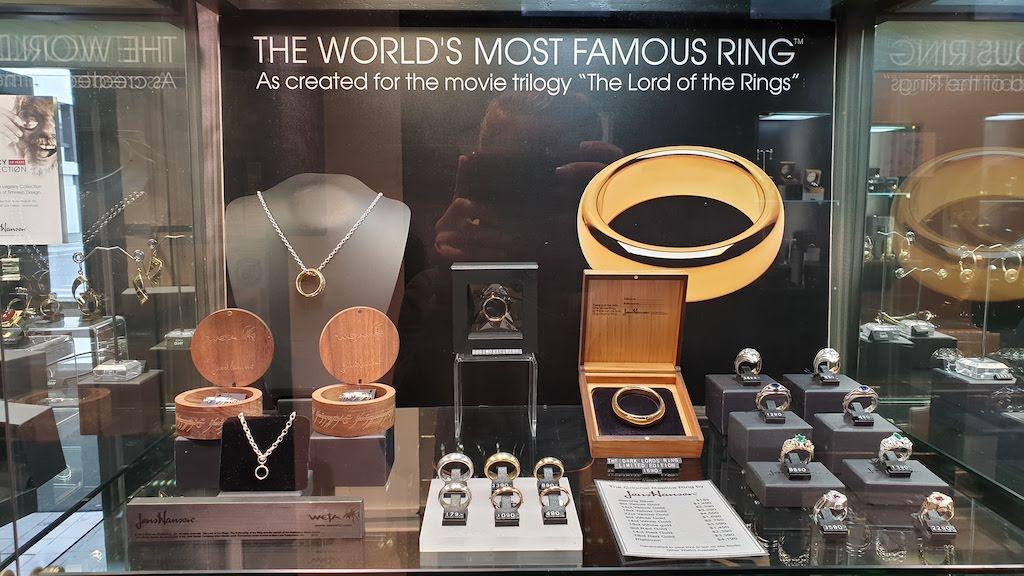 Bijouterie Jens Hansen : le vrai anneau du Seigneur Des Anneaux