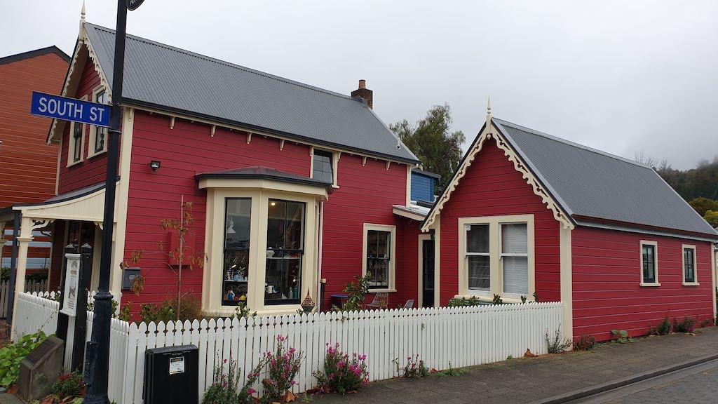 South Street : la plus ancienne rue préservée de Nouvelle-Zélande