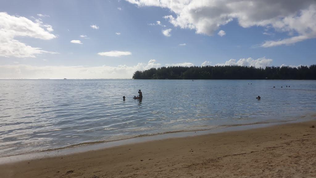 plage publique de Tiahura Moorea