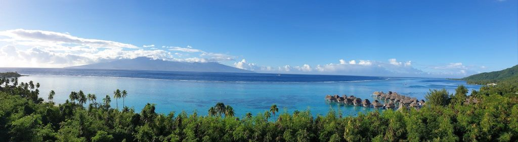 point de vue To'atea Moorea