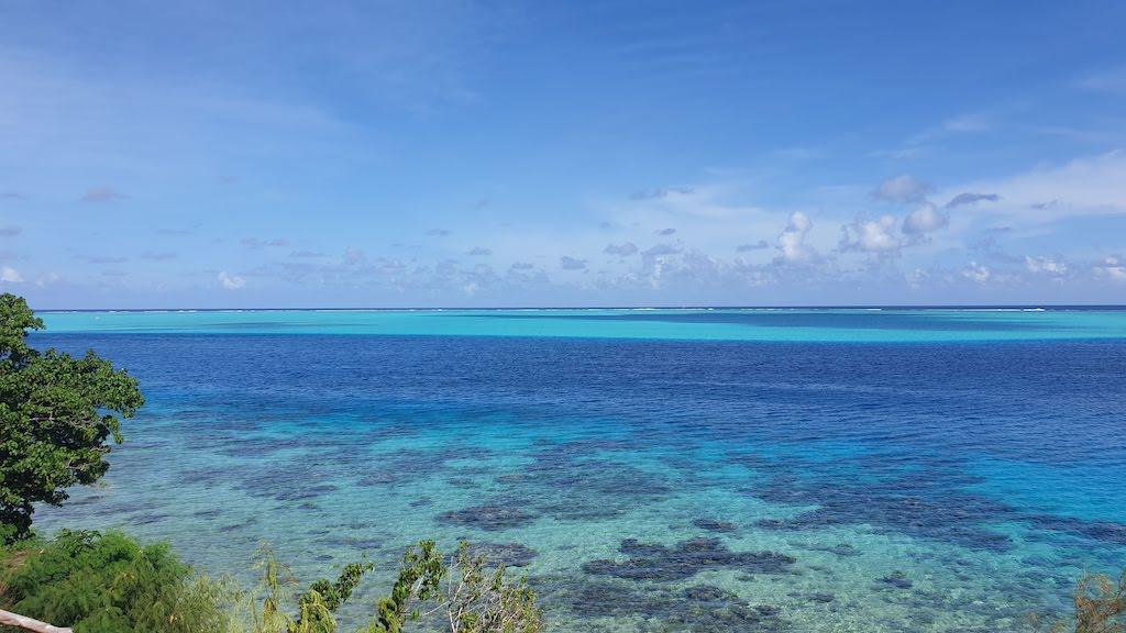 Point de vue sur le lagon Huahine