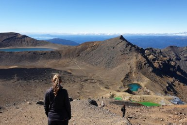 tongariro alpine crossing sommet