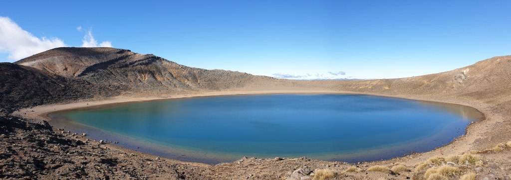 Tongariro Alpine Crossing Blue Lake