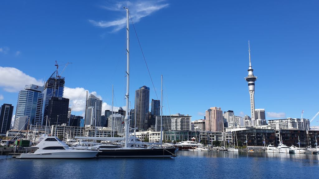 Front de mer d'Auckland