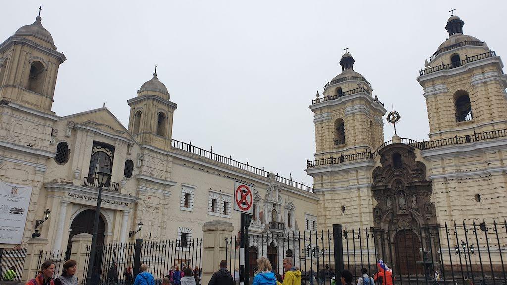 Basílica y convento de San Francisco de Asís Lima