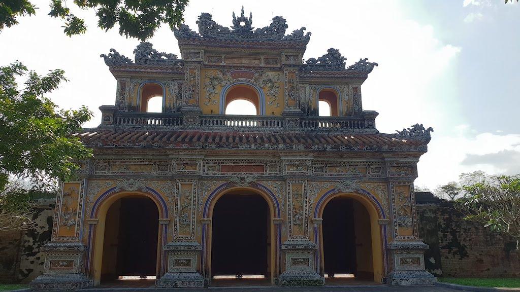 Citadelle Hué Porte de la Vertu
