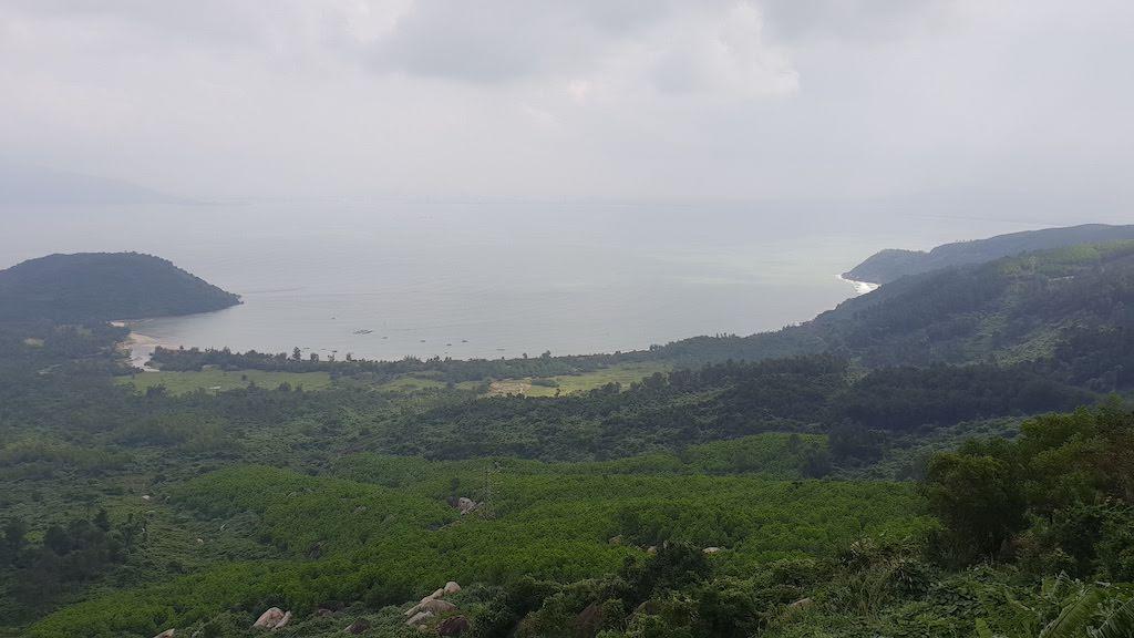 Point de vue col des nuages route Hue Hoi An
