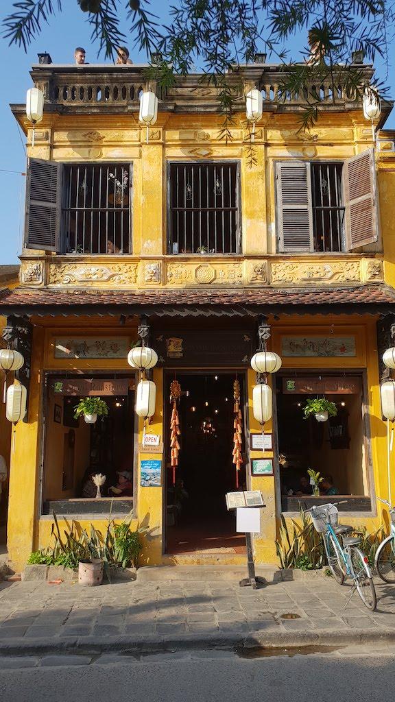 Maison typique du centre historique d'Hoi An