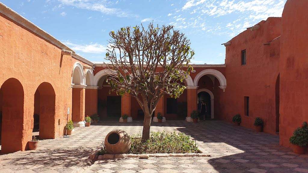 Couvent Santa Catalina patio du Silence Arequipa