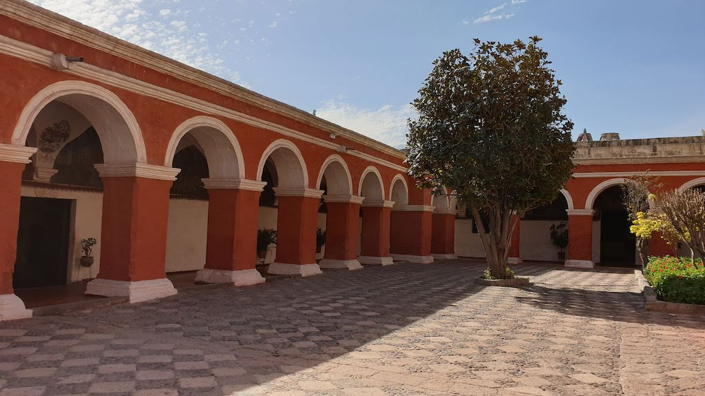 Couvent Santa Catalina cloître Majeur Arequipa