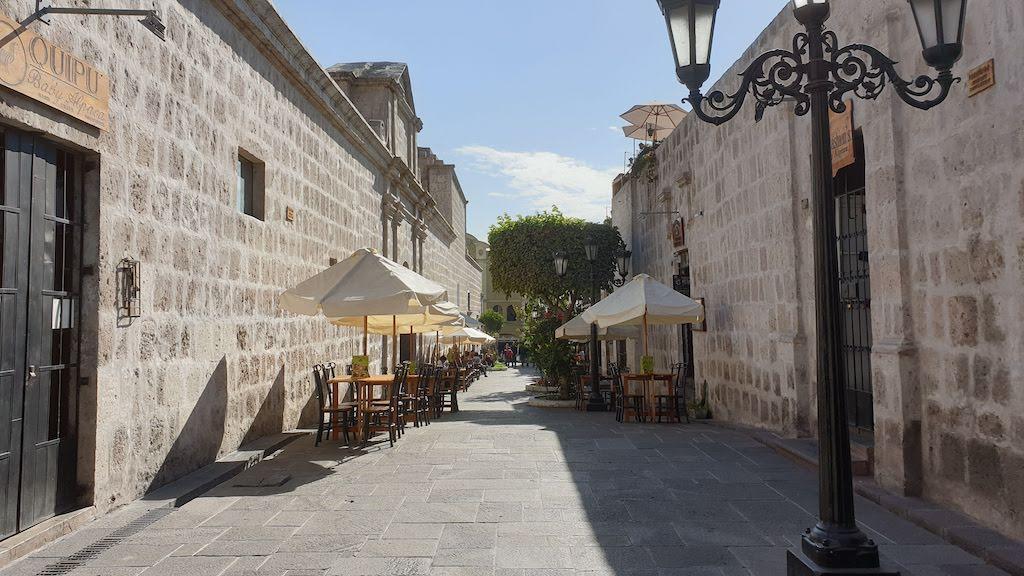 Pasaje de la Cathedral Arequipa