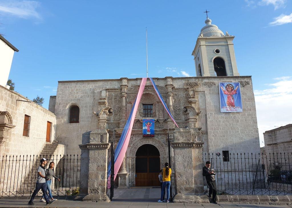 Iglesia de San Augustin Arequipa