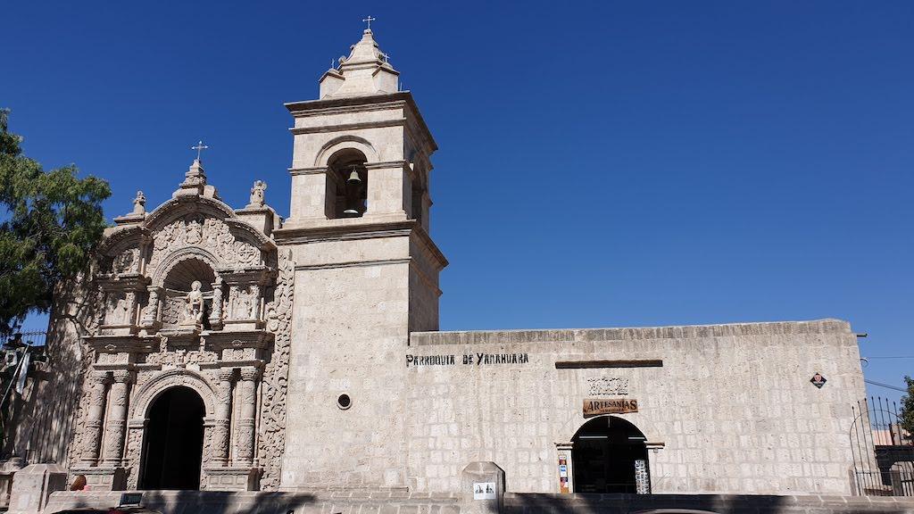 Église au Mirador de Yanahuara Arequipa