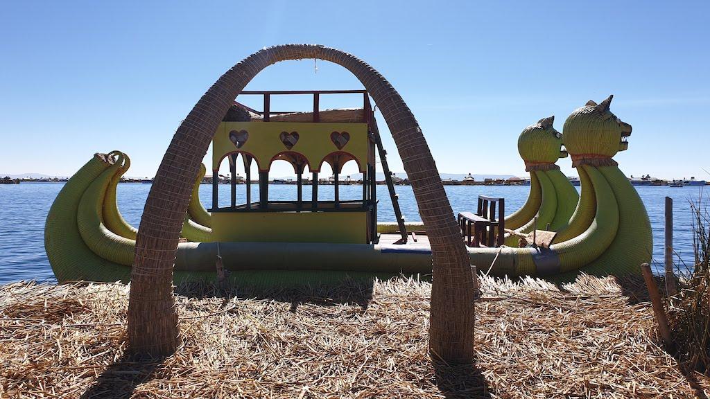Lac Titicaca îles Uros
