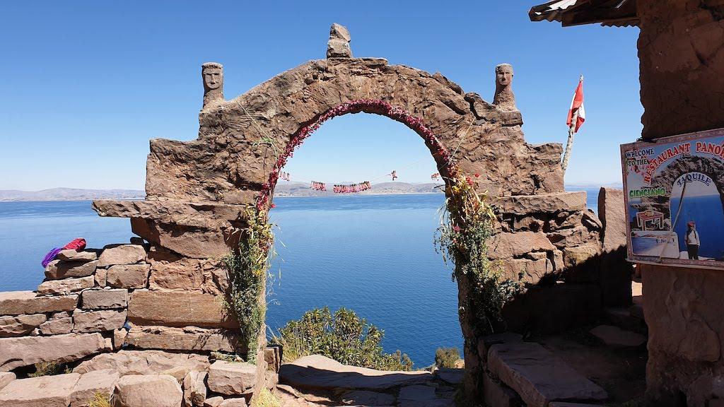 Île Taquile sur le lac Titicaca Pérou