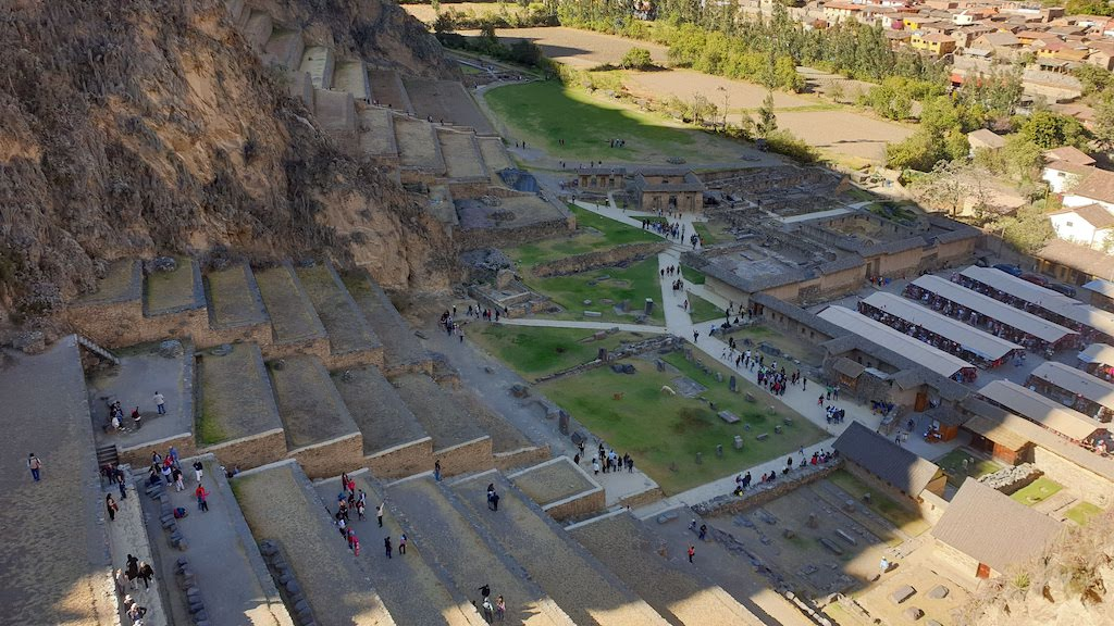 Ollantaytambo dans la vallée sacrée