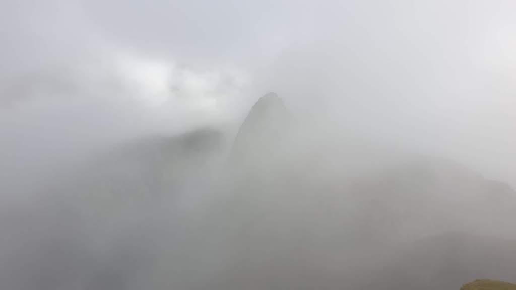 sous le brouillard