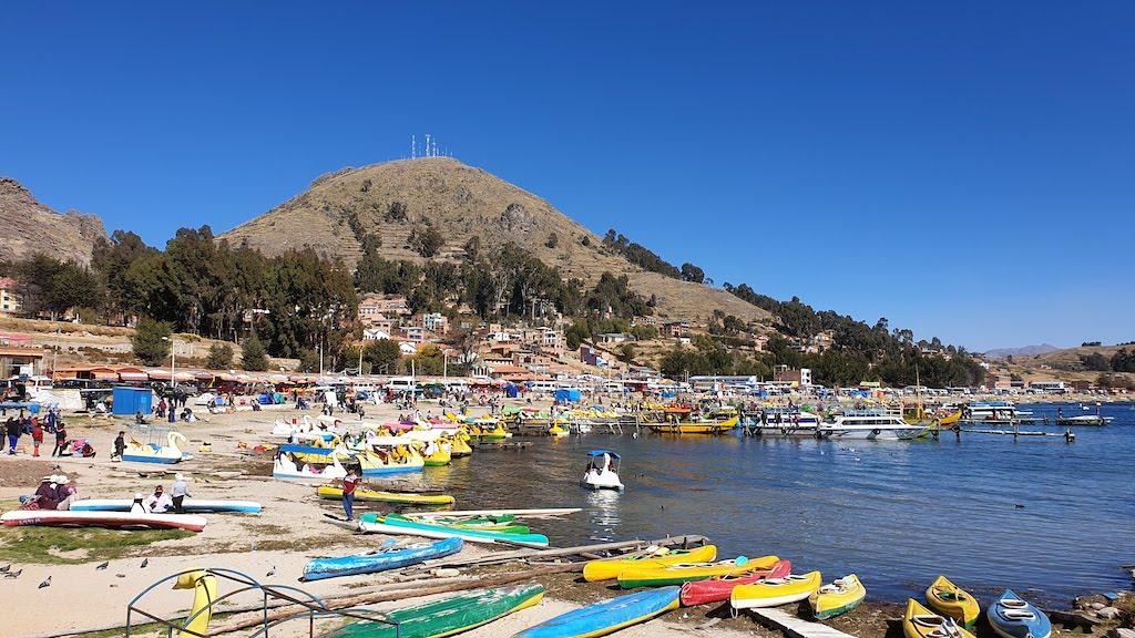 port de Copacabana lac titicaca
