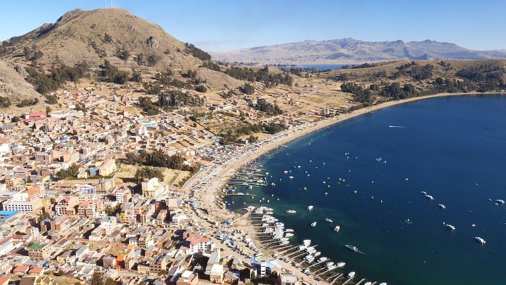 Calvario Copacabana lac titicaca