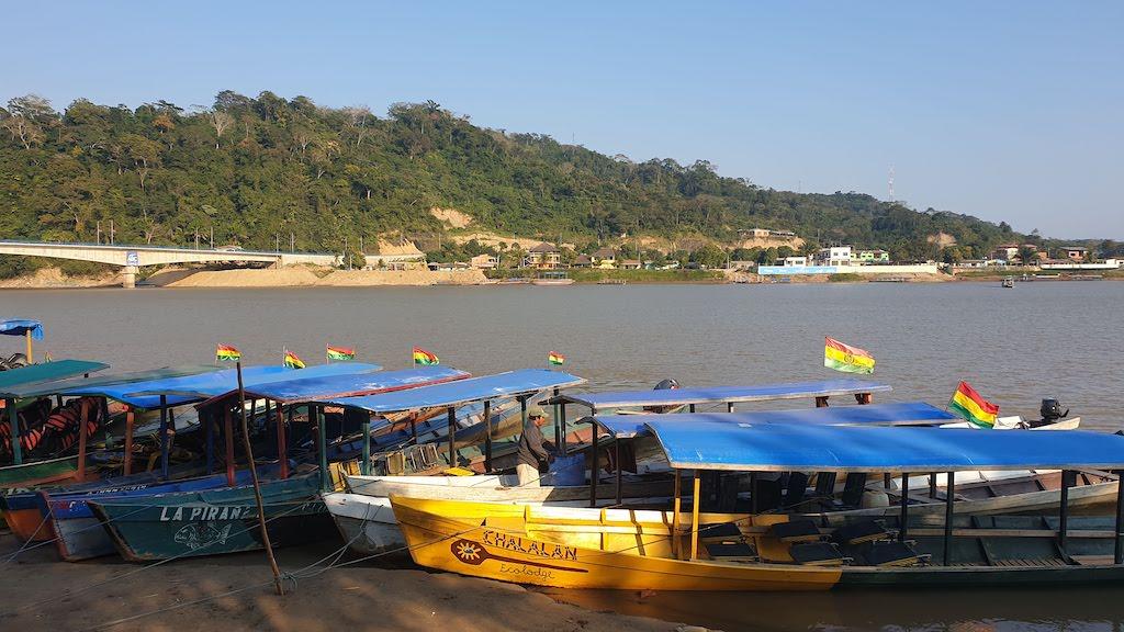 Embarcadère pour Madidi Rurrenabaque