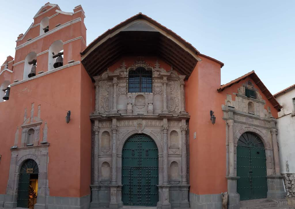 Iglesia de la Merced Potosi