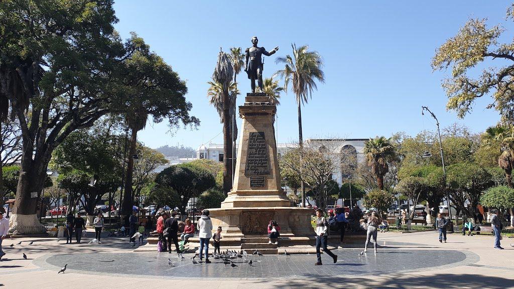 Plaza 25 de Mayo Sucre