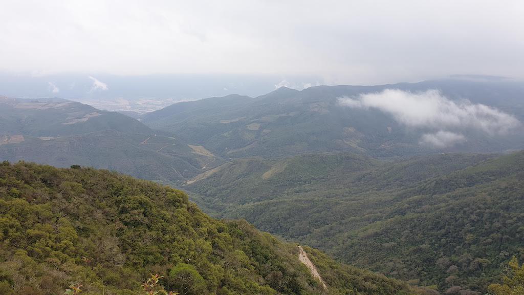 Vue depuis le parc Amboro Samaipata