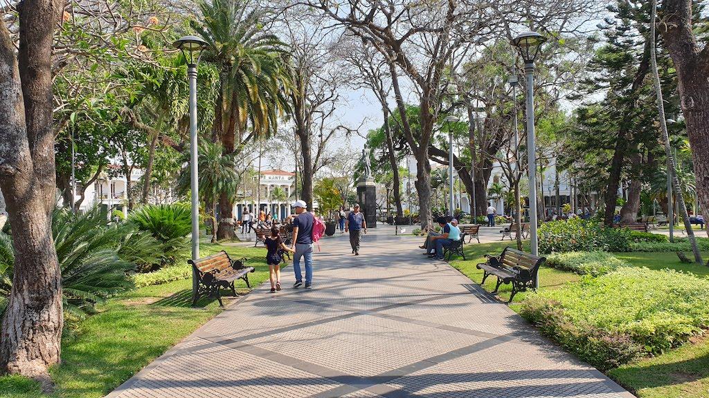 Plaza 24 de Septiembre Santa Cruz